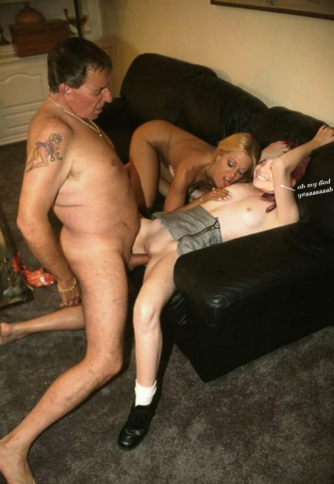 Порно отец с сыном трахают мать на айпаде