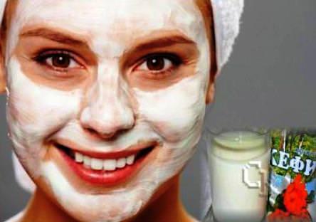 Как сделать маску с кефиром для лица