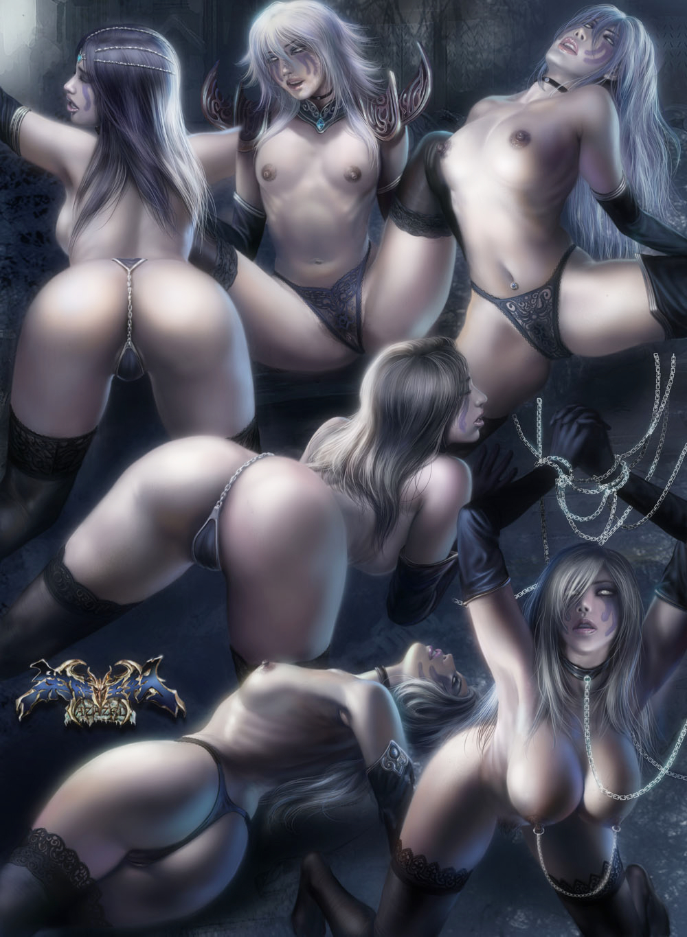 Cosplay girls hentai warlock naked sex pictures