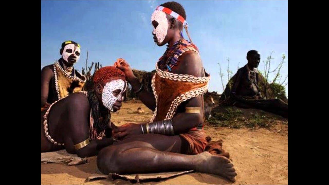 Сексуальные отношения в африканском племени
