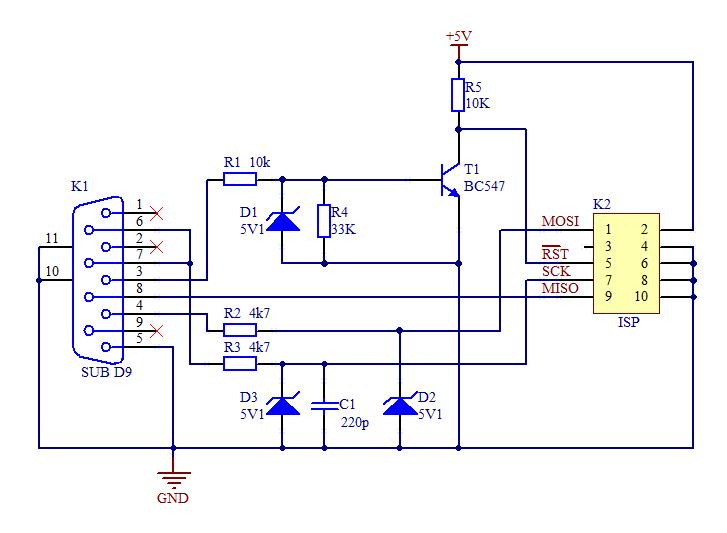 Схема usb программатора flash