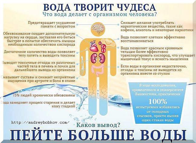 Вода для организма для похудения в домашних условиях