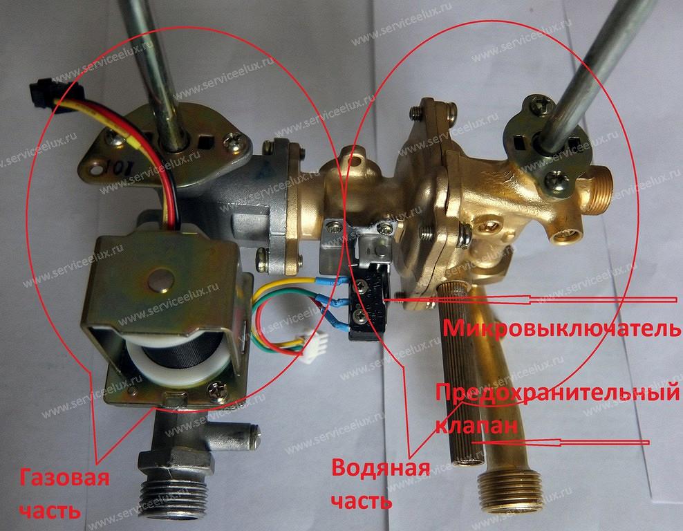 Ремонт газовы колонок своими руками