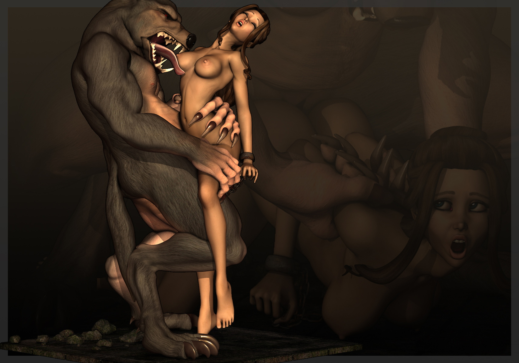 3d werewolf sex girl porn videos