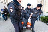 На митинге врачей и педагогов задержали семерых участников