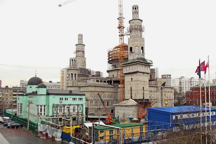 Решение о реконструкции мечети