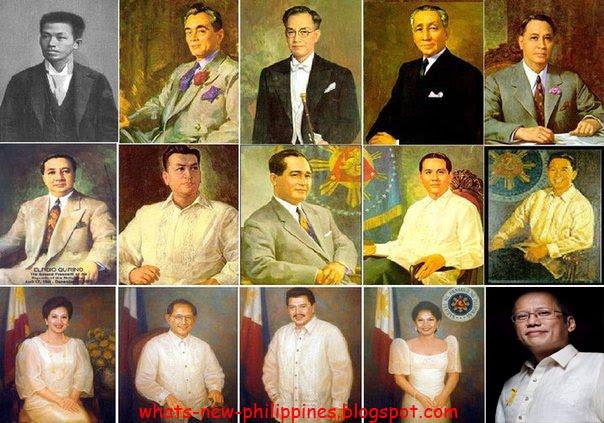 Mga talambuhay ng nagiging pangulo ng pilipinas