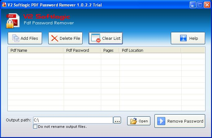 PDF passwords, protected PDFs, file permissions