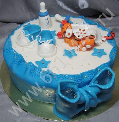 Фото торты 1 годик для мальчика