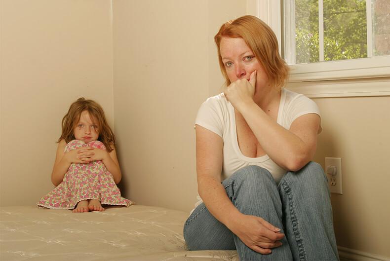 Депрессия у мамы годовалого ребенка