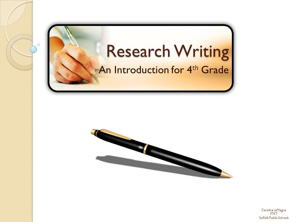 write an introduction to a research paper The purpose of this guide is to provide advice on how to develop and organize a research paper in these are general phases associated with writing an introduction.