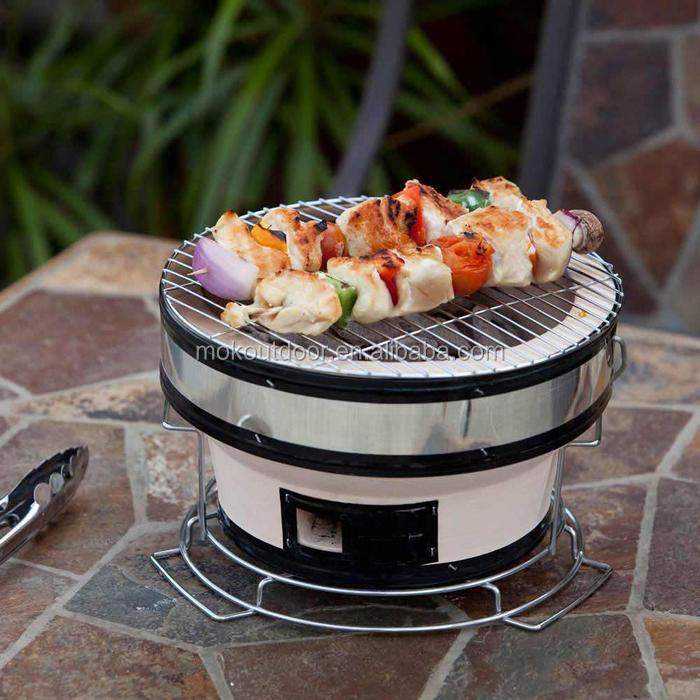 Grill small charcol grill.