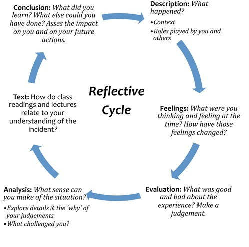 Write My Reflective Essays Using Gibbs Cycle