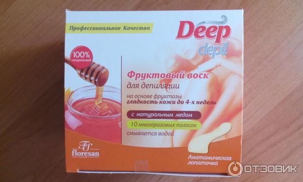 Фруктовый воск для депиляции deep depil как пользоваться