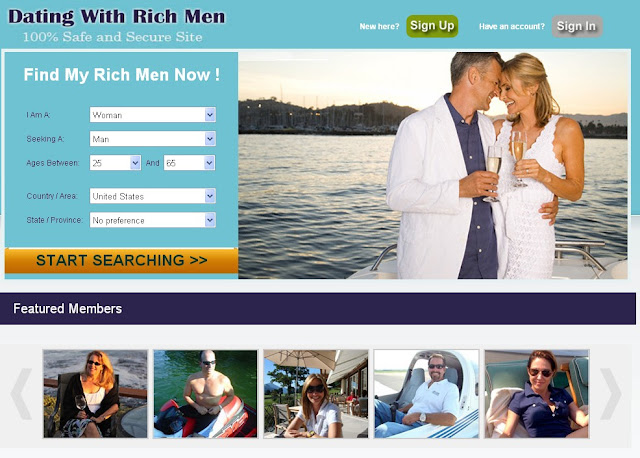 Rich Fishes Dating Sites - 100telcom
