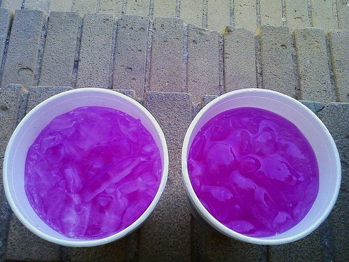 Codeine cups and the picture so vivid