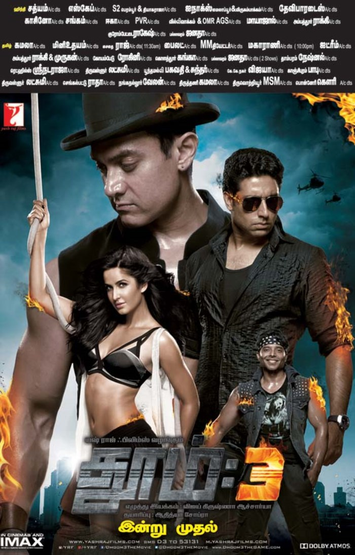 Dhoom 3 Bluray 1080p Download - Movieon movies - Watch