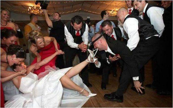 Как делают запой перед свадьбой