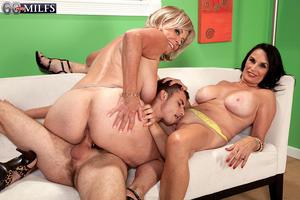 Granny big tits porn movies