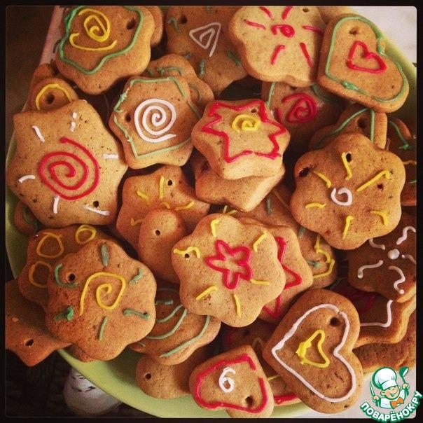 Печенье имбирное с корицей рецепт с фото