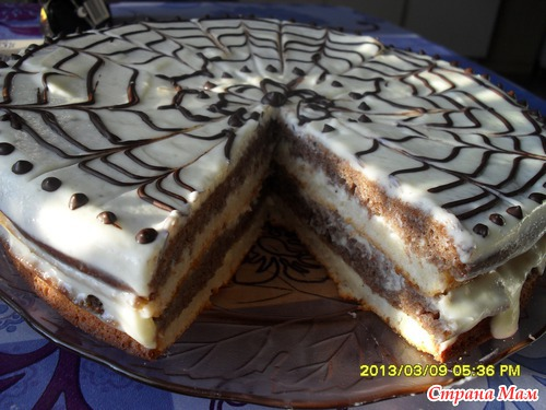 Быстрый торт рецепт на кефире
