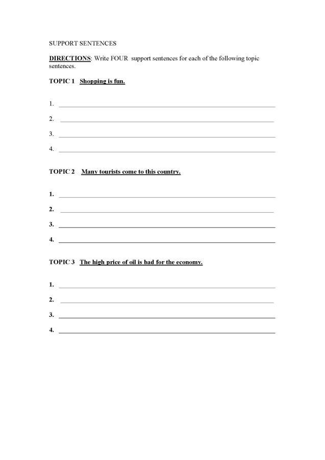 Write my essay topic sentence generator