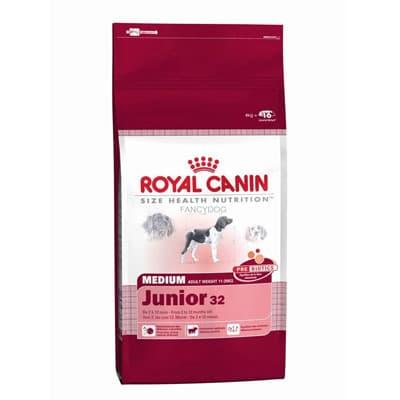 Корм royal canin medium junior 15