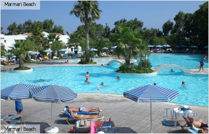 Мини отель на побережье Кос-Мармари