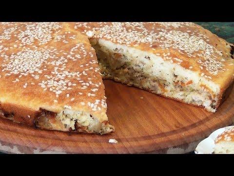 Быстрый пирог с капустой рецепт видео