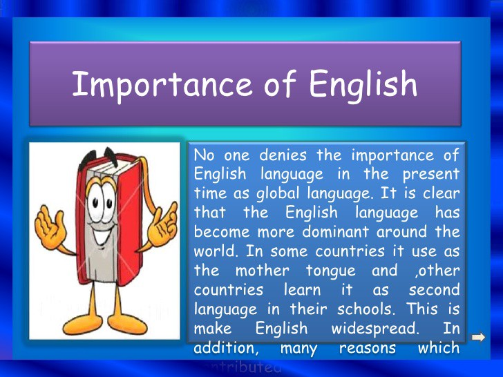 English is international language essay
