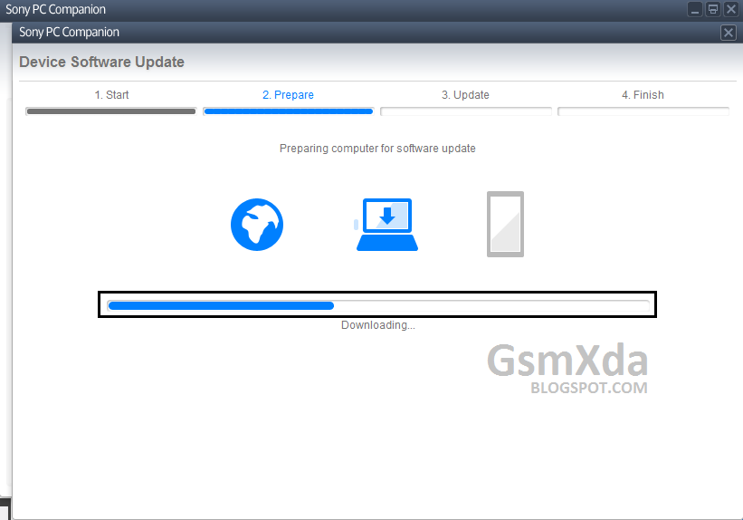 Sony download update