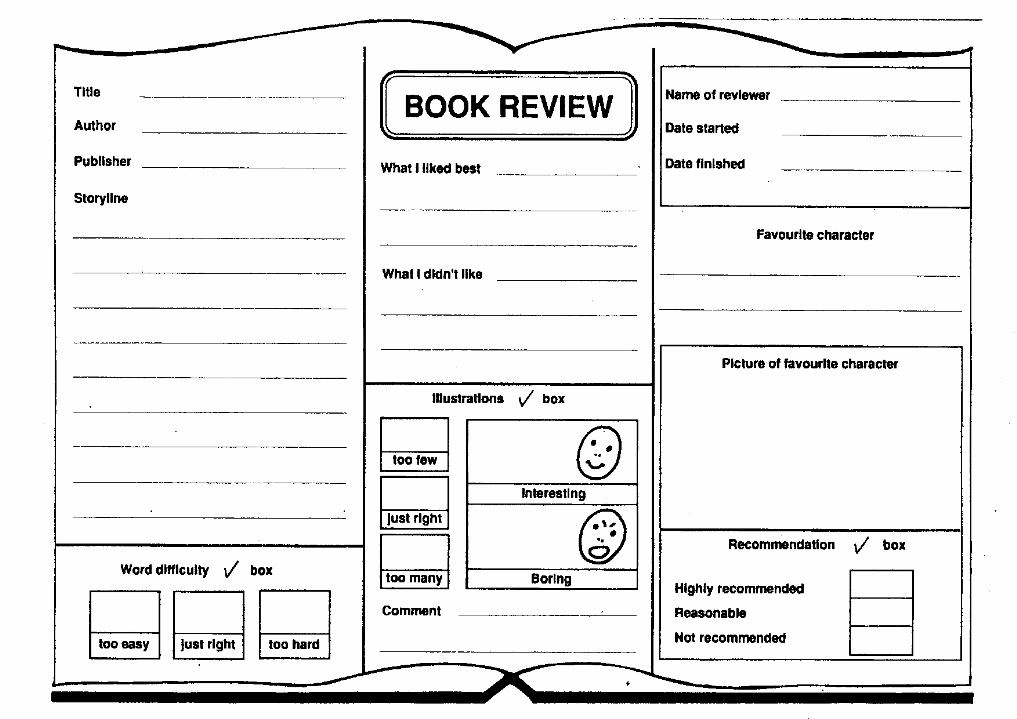Buy book report sheets for kids state report booklet report template printable book maxwellsz