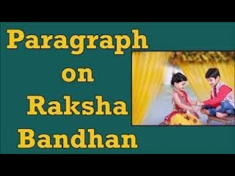 Raksha bandhan essay in hindi for kids
