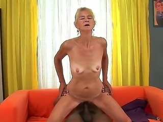 Very young wife fucks first bbc