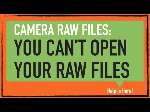 CS6 Camera Raw – How To Open Raw, JPEG And TIFF Files