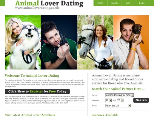 Animal lovers dating uk