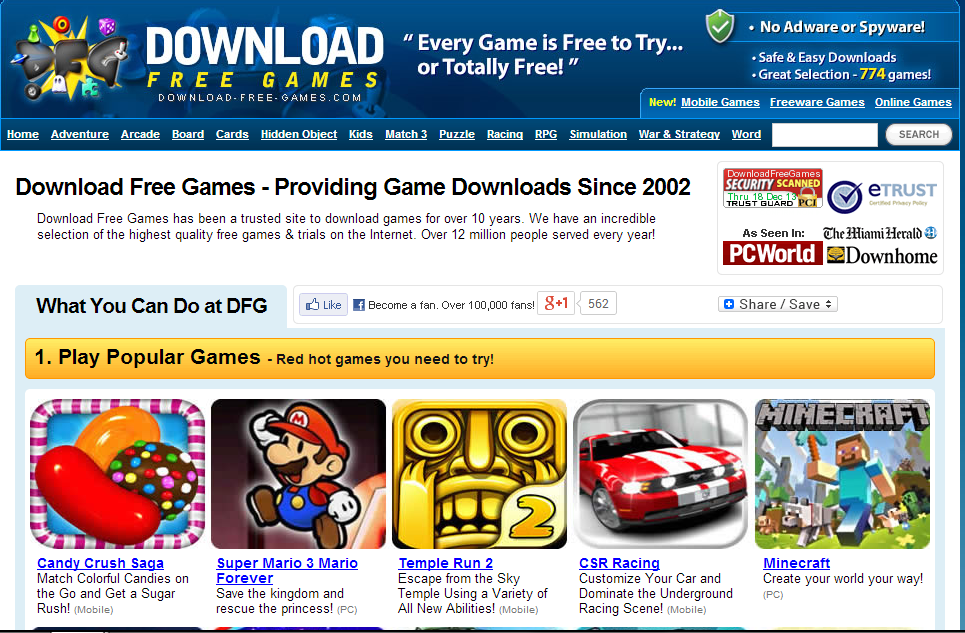 Free Games to Play or Download - GameHouse