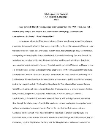 Ap Language And Composition Sample Rhetorical Analysis Essays