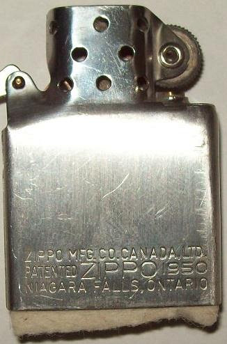 Dating canadian zippo lighters