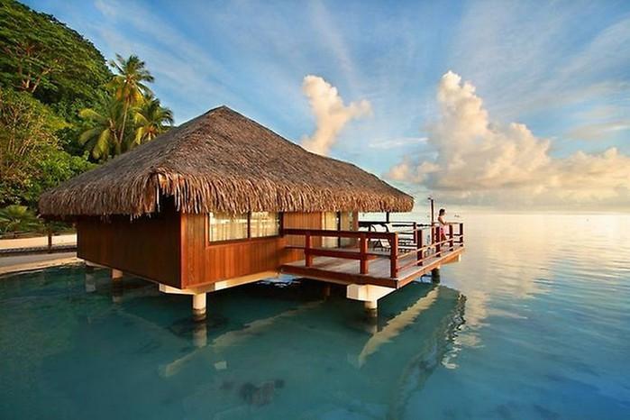Квартира в остров Храни недорого на берегу