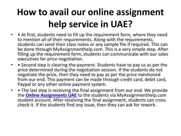 Write my online assignment writing services