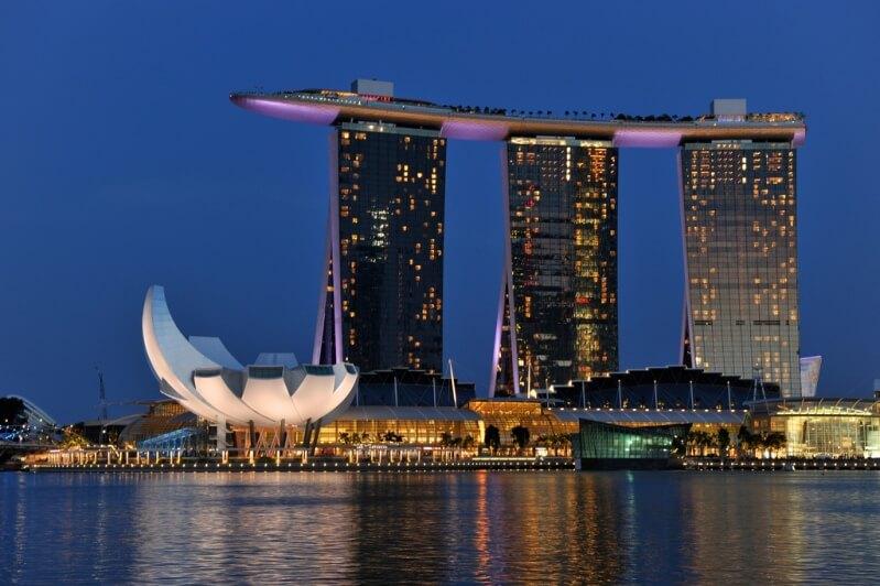 Сингапур отели с бассейном на крыше