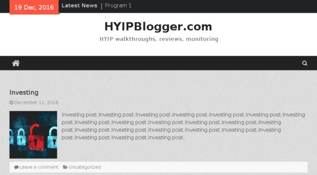 Hyip monitor reviews ebay