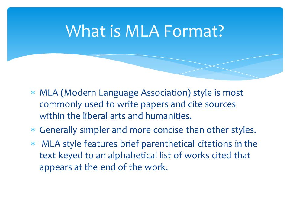 Write my mla research essay