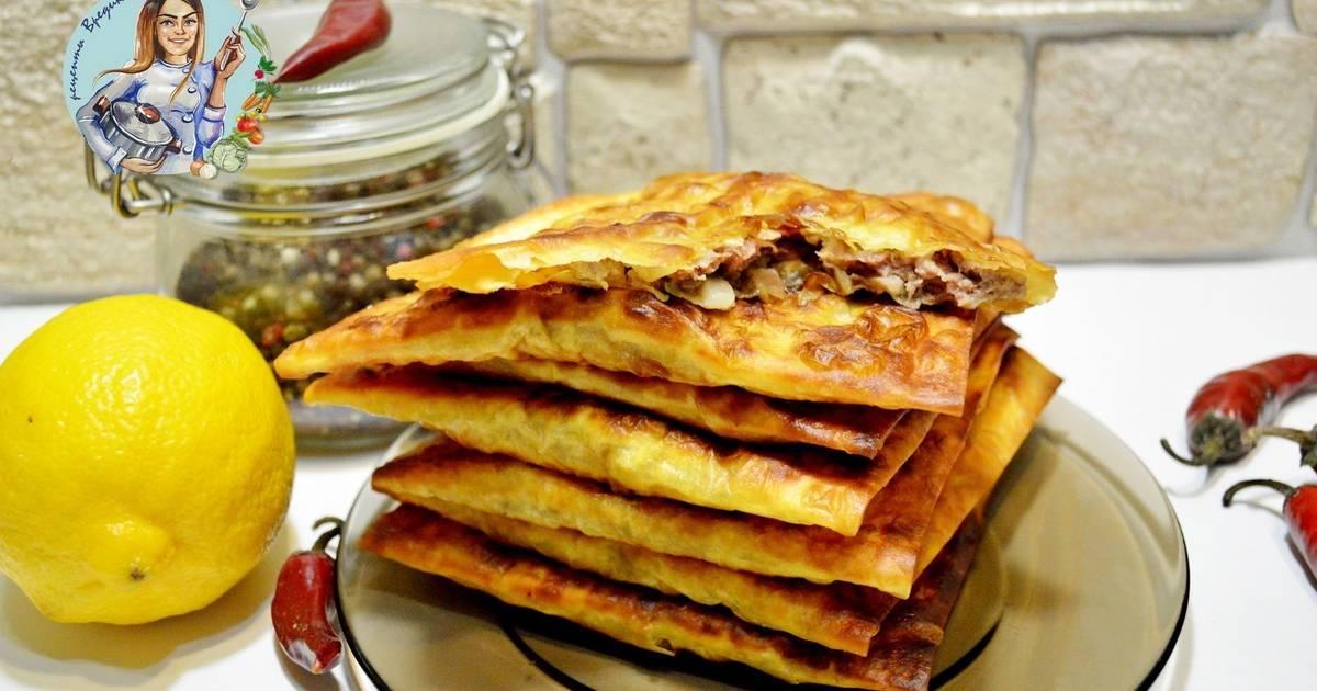 Рецепт быстрых вкусных чебуреков