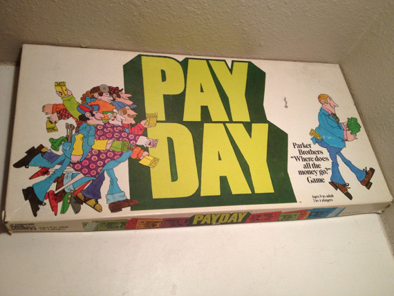 Parker brothers payday board game instructions