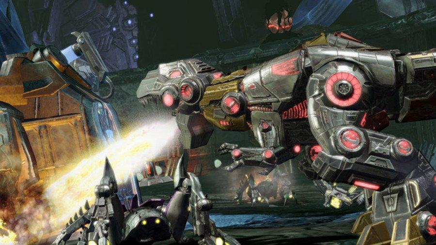 Игра Трансформеры Битва за Кибертрон - Играть