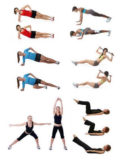 Фитнес-тренировка дома: видео-упражнения для похудения