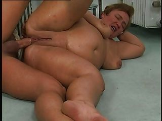 Chubby Mature Ass Fucked