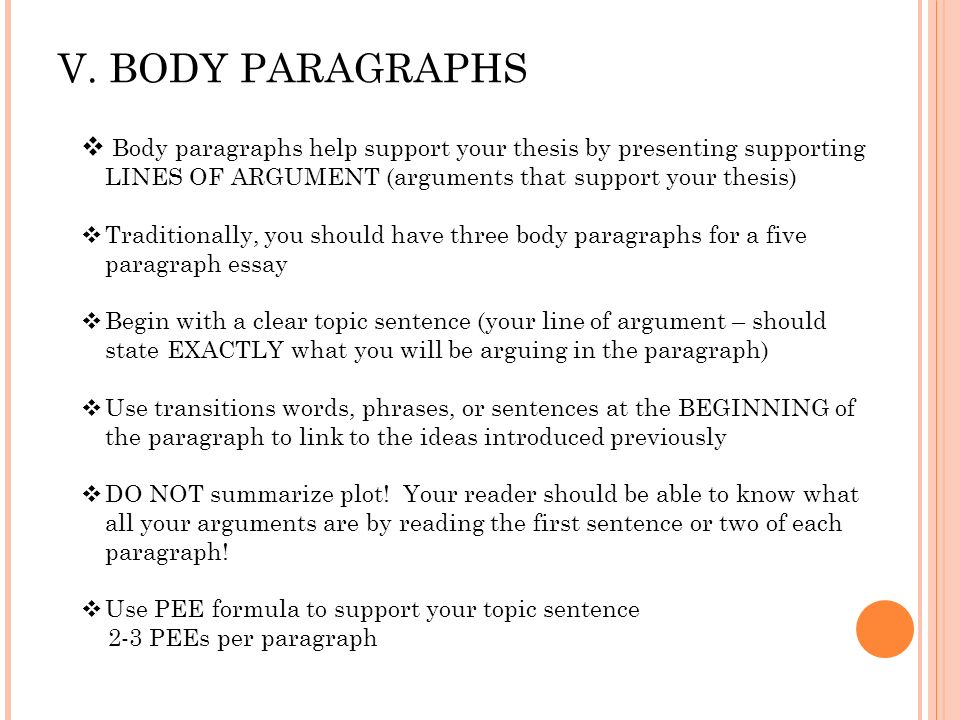 Write my five paragraph essay transition words